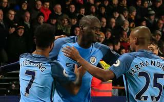 Toure: City want to be a winning machine like Barcelona and United