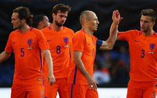 Netherlands 5 Ivory Coast 0: Veltman the unlikely hero for Oranje