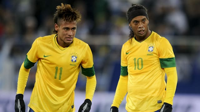 Neymar Vs Ronaldinho 2012 Neymar will not join R...