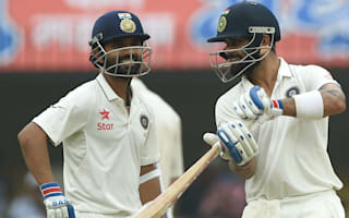 Kohli, Rahane make Black Caps toil in Indore