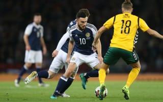 Scotland 1 Lithuania 1: McArthur header salvages draw