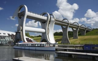 Over 80 passengers stranded on Falkirk Wheel for 30 minutes
