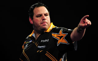 Lewis sees off Van Barneveld, Anderson cruises into final