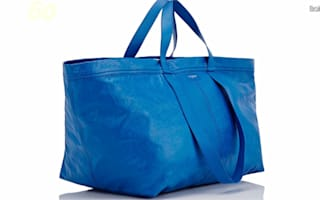 Balenciaga's new bag closely resembles an Ikea tote