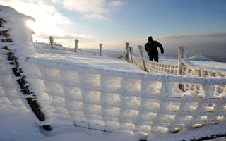 'Beast from the East' transforms the British landscape