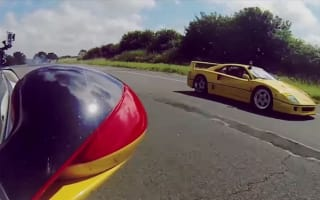 Winner-stays-on hypercar shootout