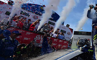 Jimmie Johnson has skin-cancer surgery morning after milestone NASCAR win