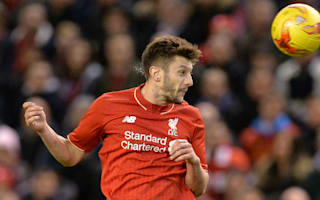 Lallana to miss Liverpool's trip to Augsburg