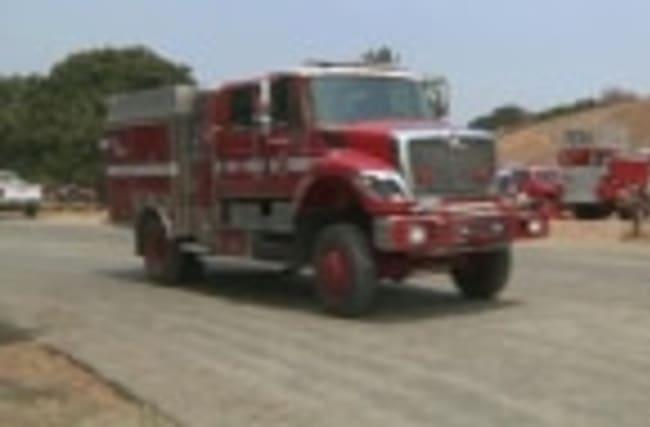 Calif. Coast Wildfire Keeps Growing