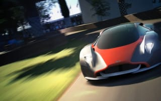 Aston Martin takes the silk sheet off its DP-100