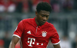 Bayern defender Alaba a doubt for Pokal semi