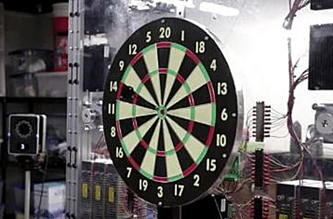 'Smart' dartboard guarantees a Bullseye every time