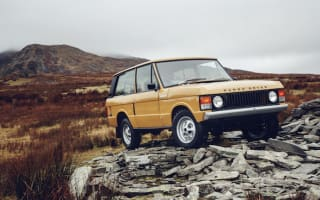 Range Rover Reborn to debut at Salon Rétromobile