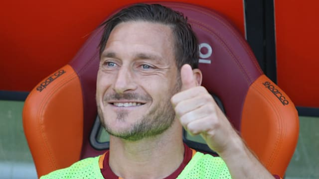 UEFA to create hall of fame, gives Totti president's award