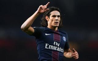 Paris Saint-Germain 4 Guingamp 0: Cavani bags brace as champions back up to second