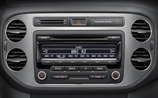 DAB radio now standard on all VW models