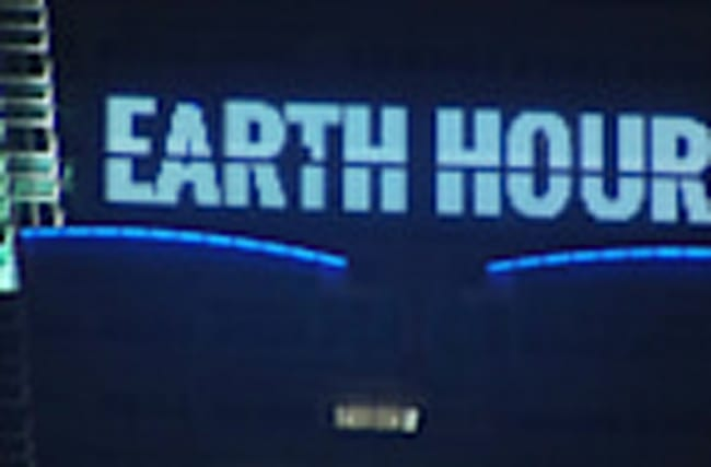 The world switches off for Earth Hour