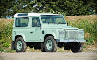 Rowan Atkinson's retro-inspired Land Rover Defender is up for auction