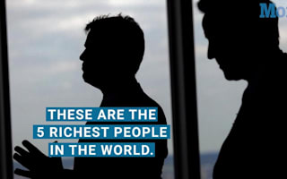 The world's five richest people