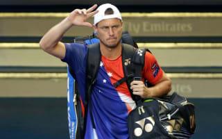 Hewitt hangs up racquet after Ferrer loss