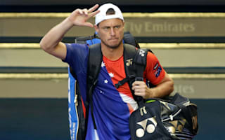 Hewitt hangs up racquet after Ferrer loss