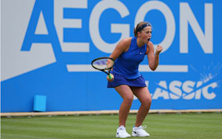 Ostapenko ousts Kvitova in Birmingham
