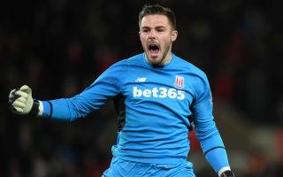 Butland pens new Stoke long-term deal until 2021