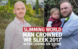 Super slimmer 'Mr Sleek' sheds six stone in weight