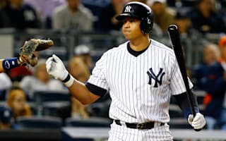 Yankees' Rodriguez removed from game with 'worrisome' hamstring injury