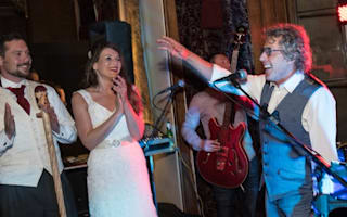 Roger Daltrey gatecrashes hotel wedding and performs classic hit