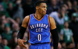 Westbrook posts triple-double, Spurs roll on