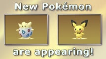 La segunda generación de Pokémons llega a Pokémon Go