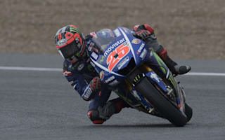 Vinales and Lorenzo post identical lap times in Spanish warm-up