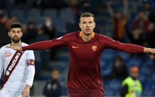 Roma 4 Torino 1: Dzeko strikes again