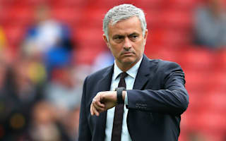Mourinho parks form worries with unusual warm-up