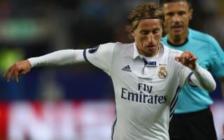 Madrid confirm Modric knee injury