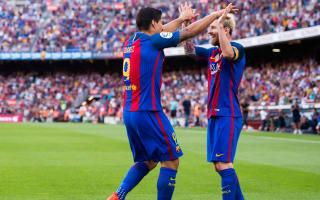 Suarez champions 'beast' Messi