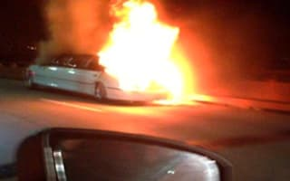 Fireball limo driver 'bickering with wife on phone' before fatal blaze