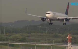 Delta passenger plane mistakenly lands at US air force base