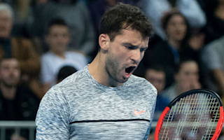 Dimitrov survives scare to continue stunning form