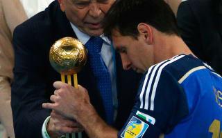 Blatter reveals Messi frustration after World Cup