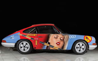 Classic Porsche 911 with interesting paint job set to go to auction