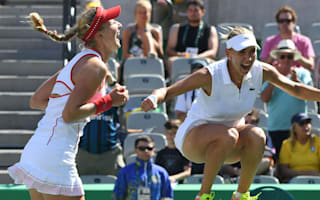 Rio 2016: Makarova and Vesnina take doubles gold for Russia