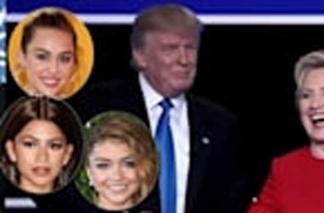 Celebs React To Hillary Clinton & Donald Trump's First Presidential Debate