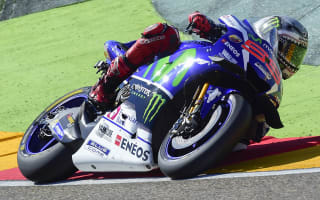 Lorenzo fastest as Pedrosa, Laverty crash