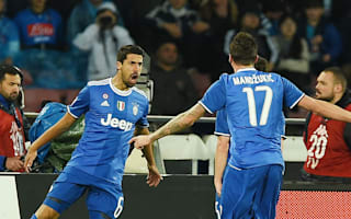 Napoli 1 Juventus 1: Hamsik cancels out Khedira on Higuain's return