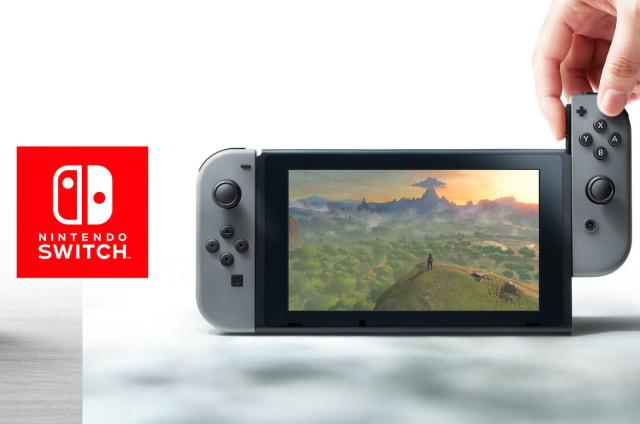 Di hola a la Nintendo Switch