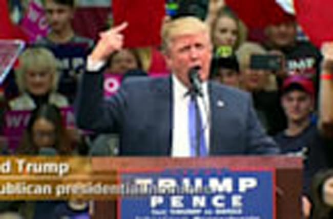 "Trump: ""We will win, we will shock the world"""