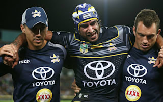 Thurston injured as Cowboys stunned by Wests
