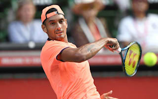 Kyrgios continues to impress in Tokyo